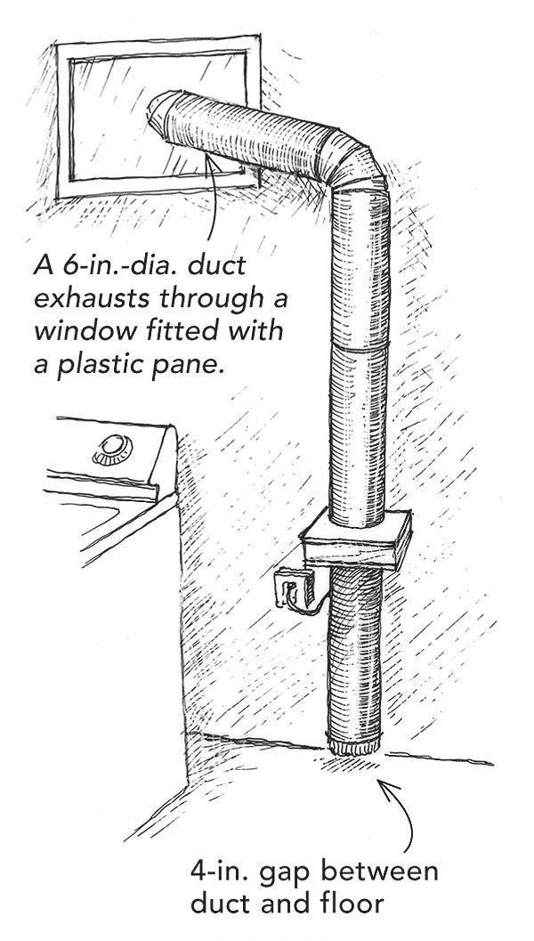 A dehumidifier alternative - Fine Homebuilding