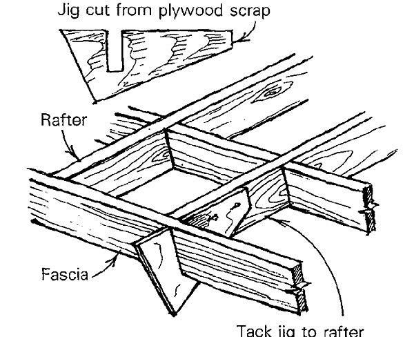 Hanging fascia boards - Fine Homebuilding