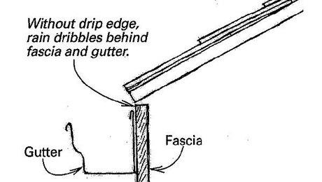 Drip Edge Retrofit Fine Homebuilding