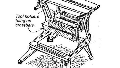 Workmate Tool Holder Fine Homebuilding