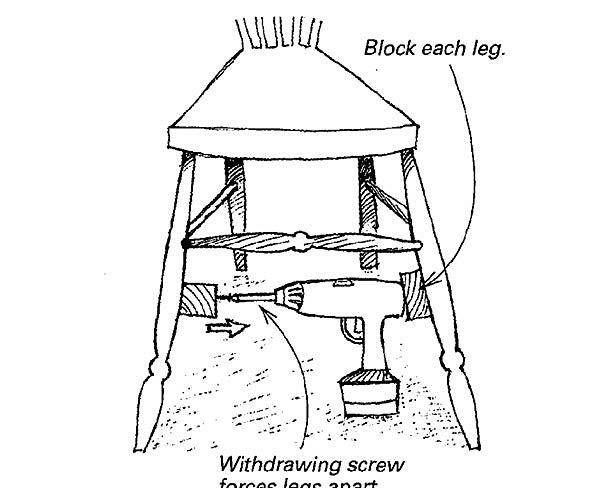 Deconstructing A Chair