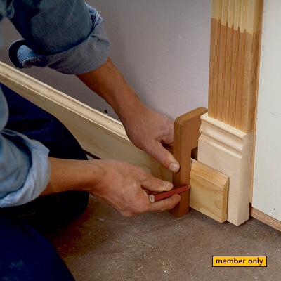 Basic Scribing Techniques. A Finish Carpenter ...