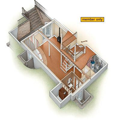 Basement Remodeling Tips Fine Homebuilding