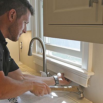 Preparing For A Tile Backsplash Fine Homebuilding