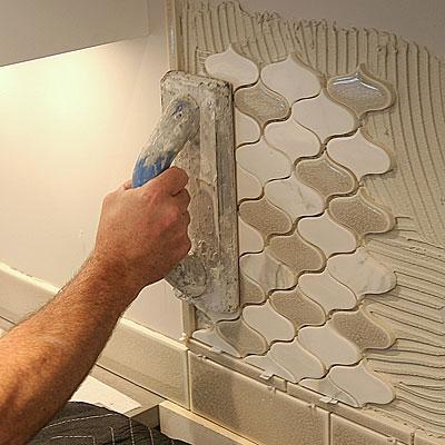 Installing Mosaic Tile Fine Homebuilding