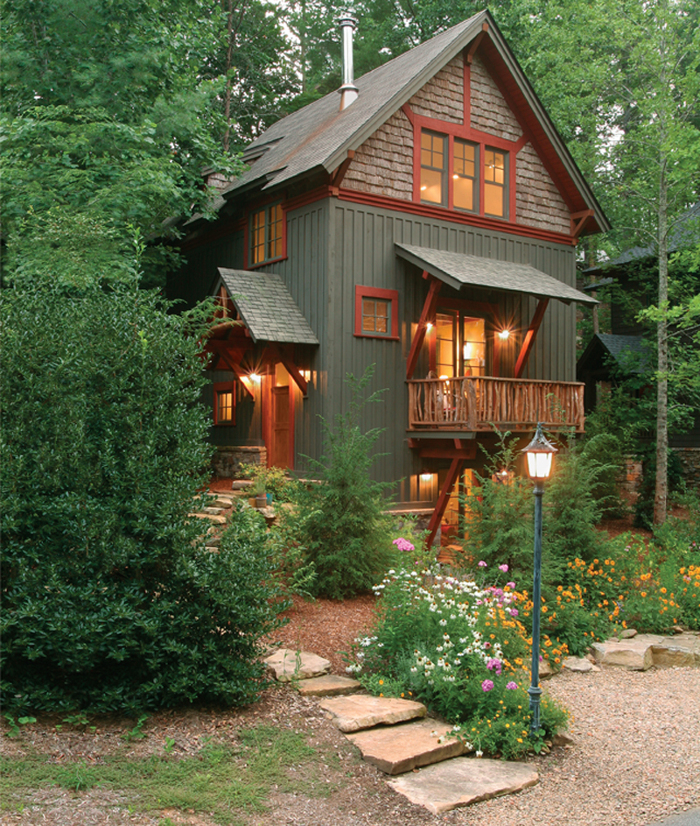 Inspiring ideas for small houses fine homebuilding - Best exterior color for small house ...