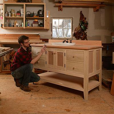 How To Build Your Own Bathroom Vanity Fine Homebuilding