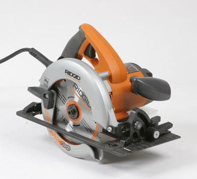 R32031 fuego circular saw fine homebuilding blade visibility very good even when using both handles guard operation good brake no adjustments very good depth adjustment arm with stiff rolled greentooth Gallery