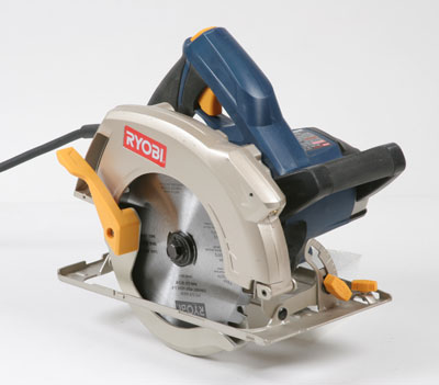 Csb142lzk circular saw fine homebuilding blade visibility poor front handle obstructs view guard operation poor brake no adjustments poor depth set outboard with a small plastic knob greentooth