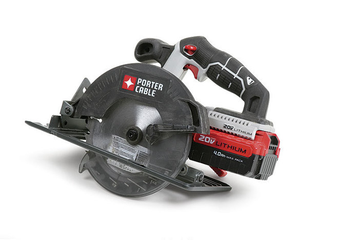Porter cable pcc660b circular saw fine homebuilding porter cable pcc660b circular saw light little saw by doug mahoney article image greentooth Choice Image