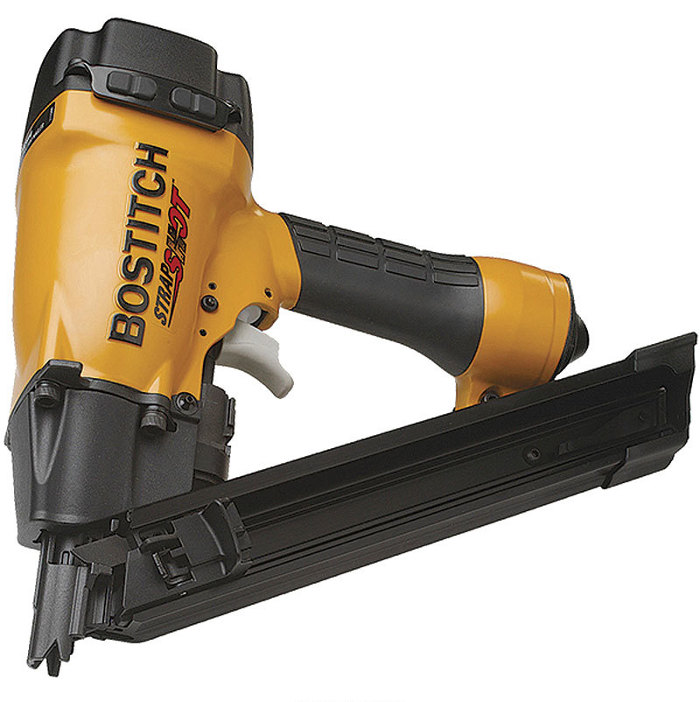 MCN-150 StrapShot Metal Connector Nailer - Fine Homebuilding