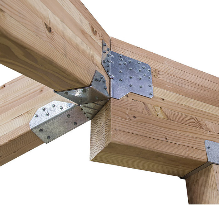 Hhrc Heavy Hip Ridge Connector Fine Homebuilding