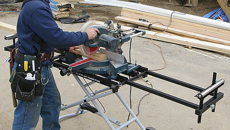 36 136 Miter Saw Stand Review Fine Homebuilding