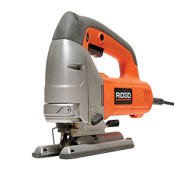 R3120 jigsaw review fine homebuilding sold in the home depot the ridgid r3120 features a toolless lever action bevel adjustment that was among the best tested its blade change is easy greentooth Choice Image