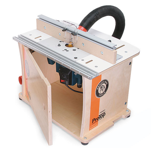 40 001 Protop Contractor Router Table Review Fine