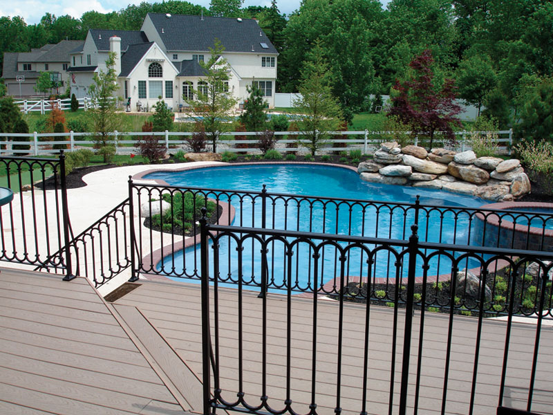 Manufactured deck railings look good but do they last fine metal solutioingenieria Choice Image