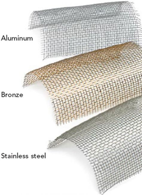 How to Choose an Insect Screen - Fine Homebuilding