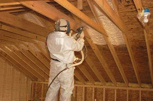 I Still Use Fiberglass In My Walls And I Spray 8u201d Of Foam In My Roofs. But  You Wonu0027t See Me Using Cellulose Or Blue Jean Insulation In My Homes.