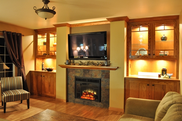 Fireplace Media Wall Fine Homebuilding
