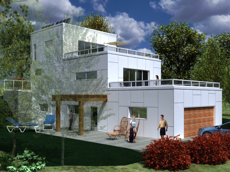Chasing leed certification in canada fine homebuilding for Icf house plans canada