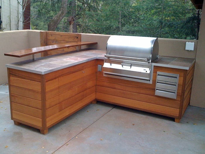 An Outdoor Barbeque Island That Looks Like Wooden Furniture - Fine on backyard barbecue design ideas, backyard bistro ideas, backyard dinner ideas, backyard entertainment ideas, backyard food ideas, backyard hawaiian ideas, backyard grill ideas, backyard bar ideas, backyard holiday ideas, back yard barbecue area ideas, backyard lunch ideas, backyard sauna ideas, backyard bbq area ideas, backyard catering ideas, backyard cooking ideas, backyard family ideas, backyard restaurant ideas, backyard bbq party ideas, diy backyard ideas, backyard mexican ideas,