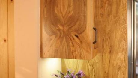 When Imperfect Is Ideal A Recipe For Spalted Kitchen Cabinets Fine