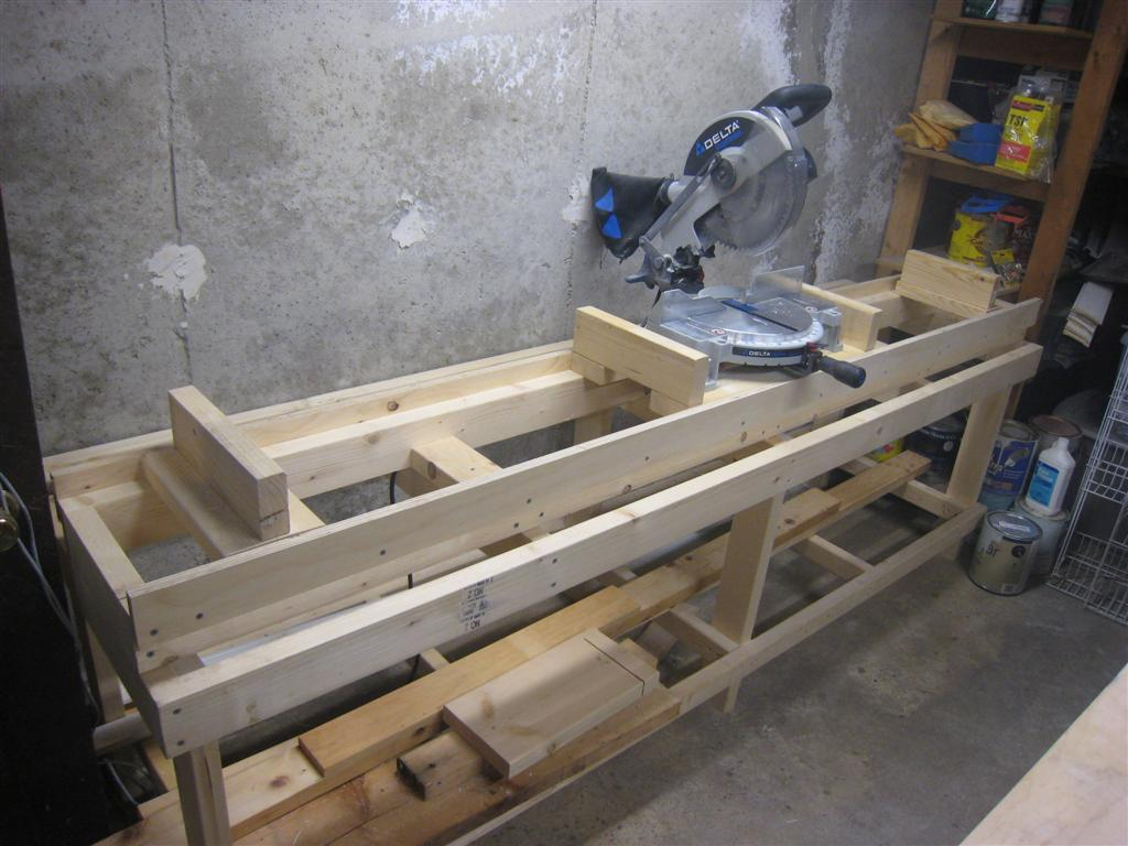 Workshop Miter Saw Stand Fine Homebuilding