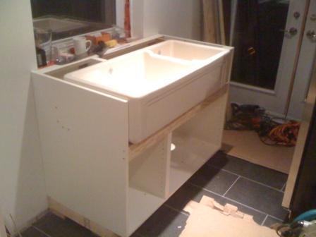 Farmhouse Sink Into Ikea Cabinets Fine Homebuilding
