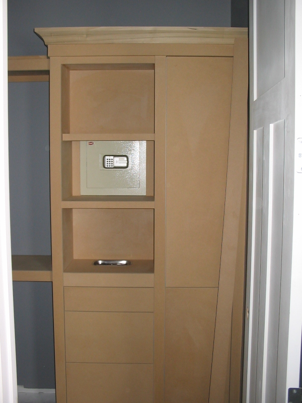 Hidden Safe In His Closet Fine Homebuilding