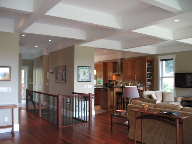 Coffered ceiling - Fine Homebuilding