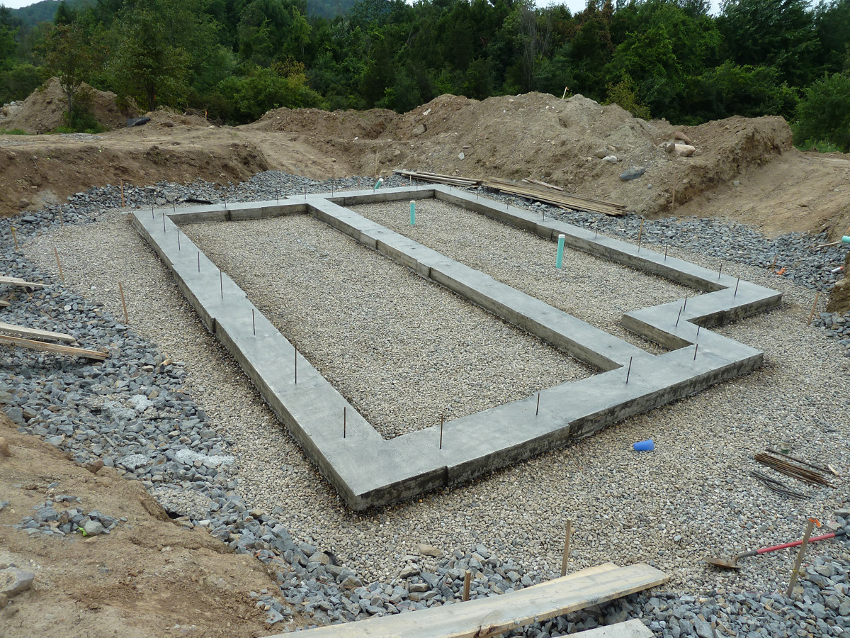 Building a radon resistant home fine homebuilding for How long to build a house after foundation is poured