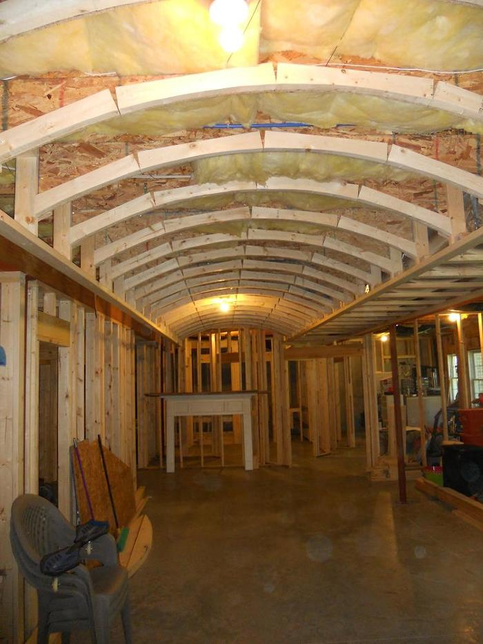 Framing For A Barrel Vaulted Coffered Ceiling Fine