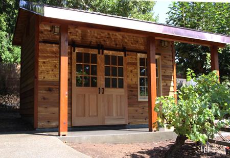 Cedar Garden Shed Fine Homebuilding