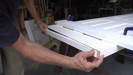 How to Trim a Hollow-Core Door to Height