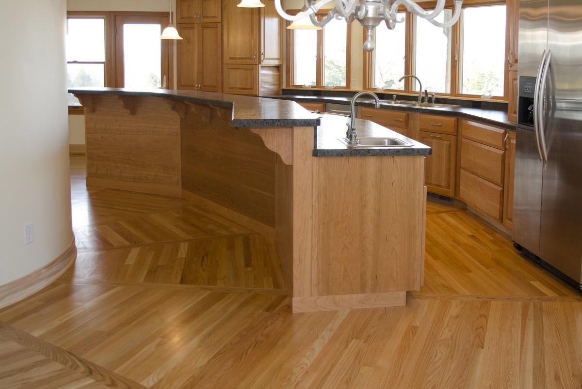 Round Floor Plan Kitchen
