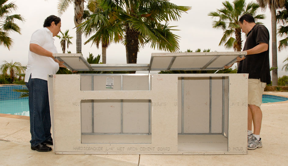 Outdoor kitchen modular kits fine homebuilding solutioingenieria Gallery