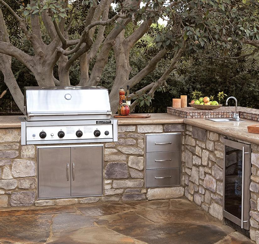 Modular Outdoor Kitchen: Outdoor-Kitchen Modular Kits