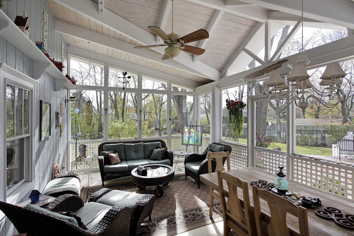 Screened In Porch Addition Fine Homebuilding