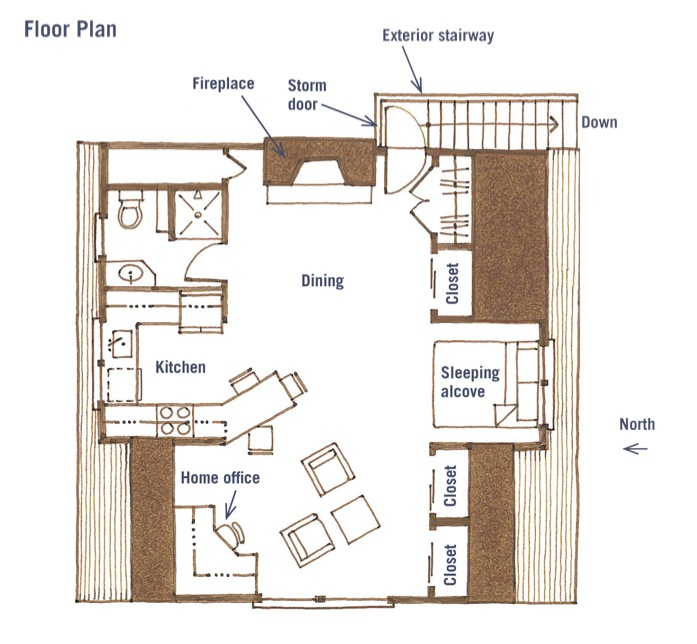apartments over garages floor plan an garage in suite with a wealth of storage 22908