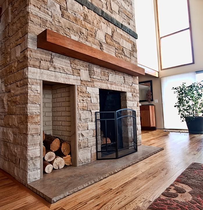 Brick Fireplace Remodel - Fine Homebuilding