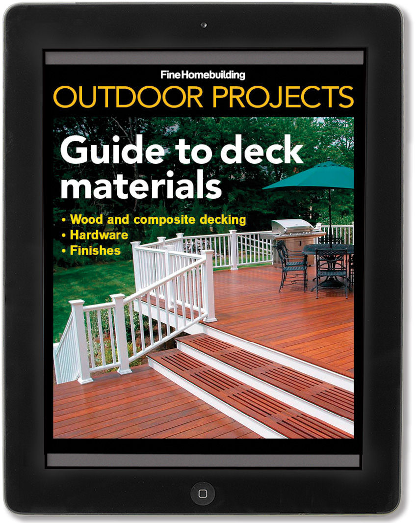 Guide to deck materials iPad mini issue