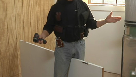 & Install Hinges Easily Without a Door Buck - Fine Homebuilding