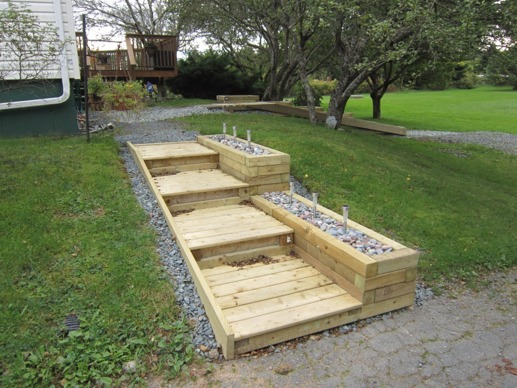 Steps And Planter Boxes Fine Homebuilding