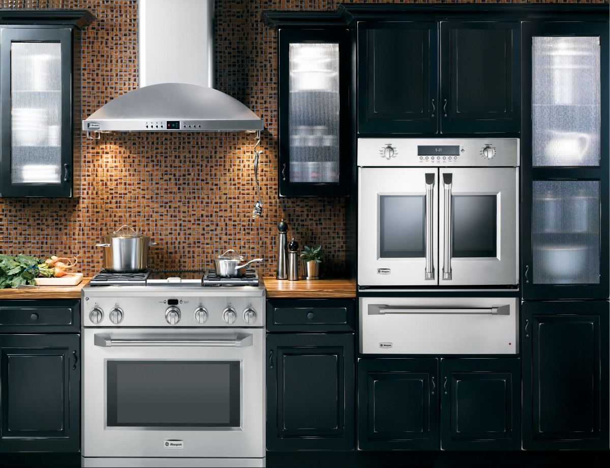 Appliance Wall In Kitchen