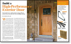 Merveilleux Exterior Door