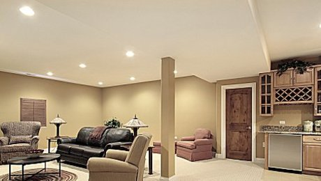 Basement Ceilings Drywall Or A Drop Ceiling Fine