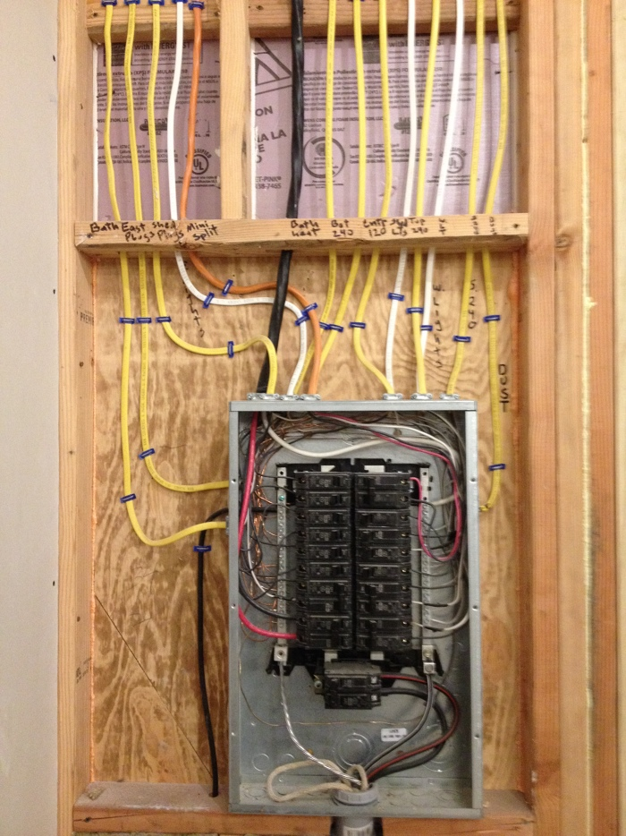 wiring a subpanel fine homebuilding rh finehomebuilding com Do It Yourself Electrical Wiring Home Electrical Wiring Diagrams