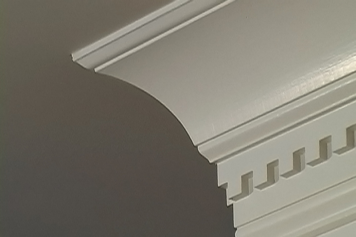 Installing Crown Molding Without A Nail Gun Fine