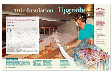 Article Image & Insulation and Attics - Fine Homebuilding