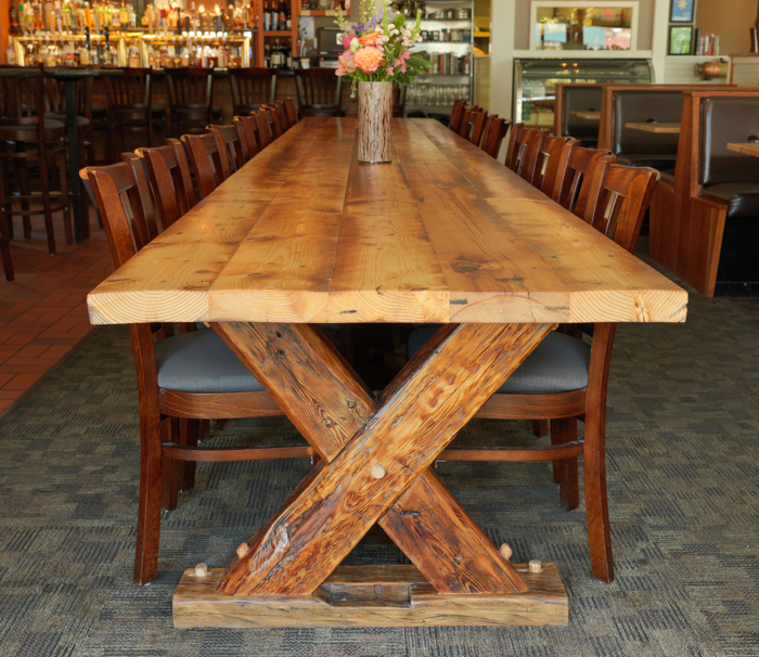 One of a Kind Reclaimed Table